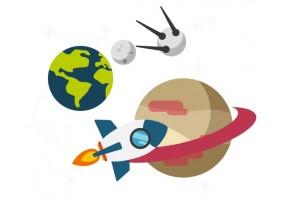Sticker Espace enfant