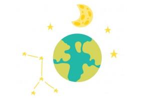 Sticker Lune