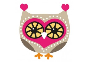 Sticker Hibou