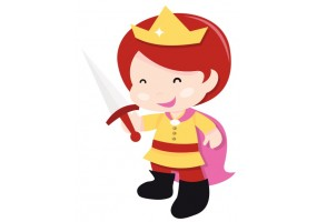 Sticker Princesse