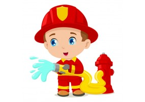 Sticker Pompier