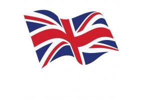 Sticker Drapeau anglais