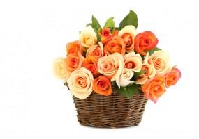 Sticker bouquet rose
