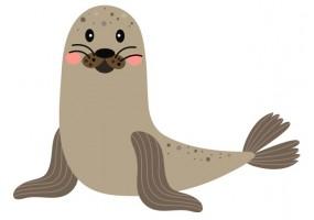 Sticker animaux polaire