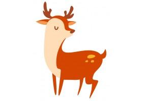 Sticker Animaux de la forêt