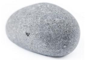 Sticker zen galet gris