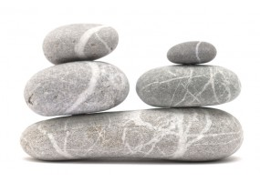 Sticker zen galet