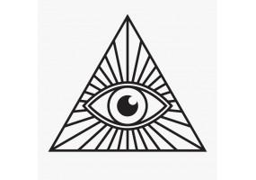 Sticker yeux egyptien