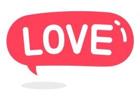 Sticker emoji amour