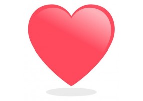 Sticker emoji coeur