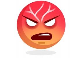 Sticker emoji enerve