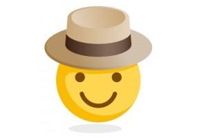 Sticker emoji inspecteur