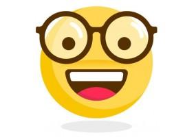 Sticker emoji intello
