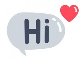 Sticker emoji salut