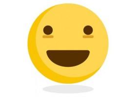Sticker emoji sourire