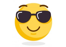 Sticker emoji star