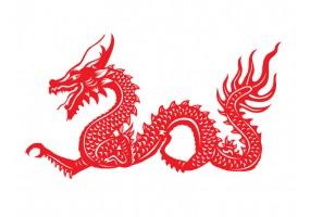 Sticker chinois chat
